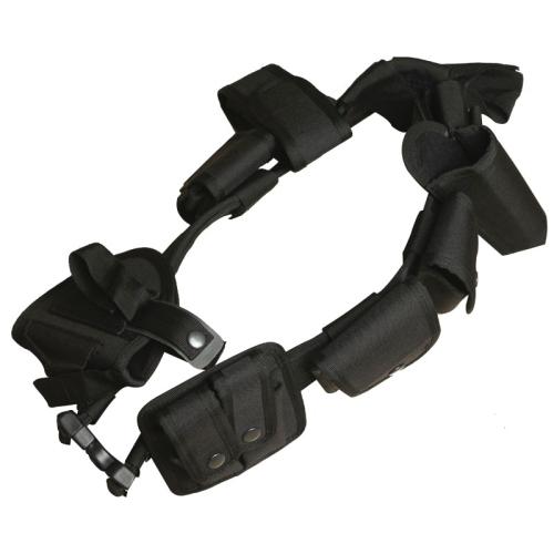 10 1 Multifuncion Exterior Alforja Accesorios Bolsa Bolsocintura Tactical Belt Negro