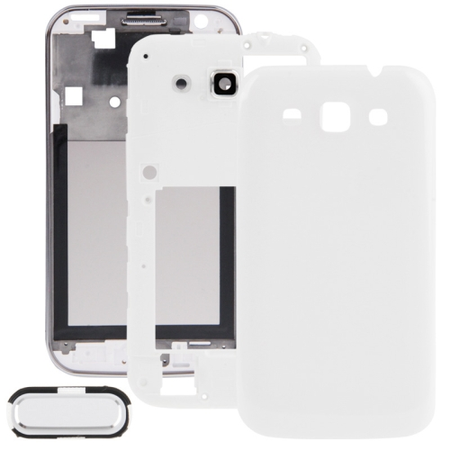 i8552 HOUSING CROME+MIDLE+BACK (WHITE/BLACK)