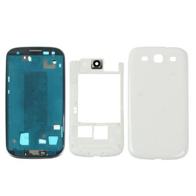 FULL HOUSING S3(i9300) MIDDLE+BACK+LCD FRAME (WHITE/BLUE)