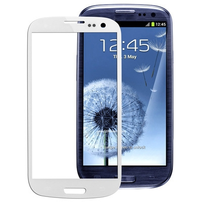 Front Screen Outer Glass Lens for Samsung Galaxy SIII / i9300(White)