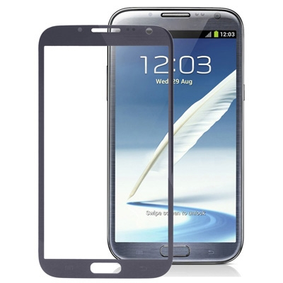 N7100 FRONT GLASS ( GREY)