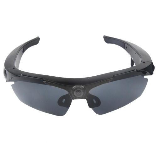 1,3 Megapixeles Camara Deportes Sunglass 70 Grado Lente Gran Angular Hd Negro