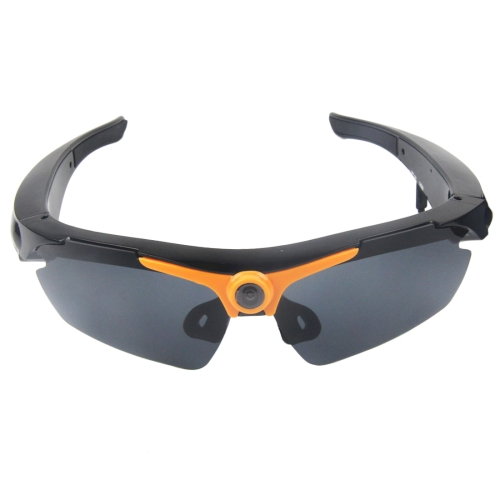 1,3 Megapixeles Camara Deportes Sunglass 70 Grado Lente Gran Angular Hd Naranja