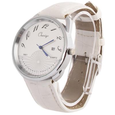 Цвет: Белый Материал часов: Сплав Стиль часов: Повседневные Тип дисплея часов: Кольцевой циферблат Тип ремешка часов