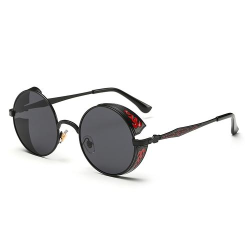 Eyeglass Frame Repair Long Island : SUNSKY - Retro Carved Round Sunglasses (Lens Colour ...