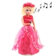 Electric little Girl with Sound, Size: 320 x 110 x 110mm (Red)