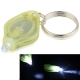 Mini Keychain LED Flashlight (Yellow)