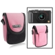 Universal Mini Digital Camera Bag, Size: 10 x 8 x 3.5cm (Pink)
