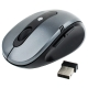 2.4GHz Wireless Optical Mouse with USB Receiver, Plug and Play, Working Distance up to 10 Meters (Bluish Grey)