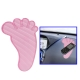 Feet Shaped Car Anti-Slip Mat Super Sticky Pad for Phone / GPS/ MP4/ MP3 (Pink)