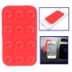 Anti-Slip Mat Super Sticky Pad for Phone / MP4 / MP3 (Red)