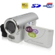 3.0 Mega Pixels Digital Camera & Video with 1.8 inch TFT LCD Screen, Support TV Out, Silver (DV136)