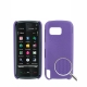 Dream Mesh Case for Nokia 5800 (Purple)