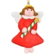 Hang Decorations Display Ornament Enamel Christmas Angel