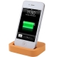 Dock Cradle Charger Station with 3.5mm Line Out for iPhone 4 & 4S (Orange)