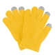 Dot Gloves of Touch Screen for iPhone 5, iPhone 4 & 4S / iPad / iPod Touch, BlackBerry, HTC and other Touch Screen Mobile Phones (Yellow)
