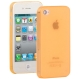 0.3mm Ultra-thin TPU Case for iPhone 4/4S (Orange), Transparent version / Matte Edition