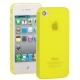 0.3mm Ultra-thin TPU Case for iPhone 4/4S (Yellow), Transparent version / Matte Edition