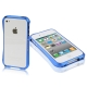 Aluminum Bumper Case for iPhone 4 & 4S (Blue)