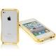 Aluminum Bumper Case for iPhone 4 & 4S (Golden)