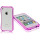 Aluminum Bumper Case for iPhone 4 & 4S (Red plum)