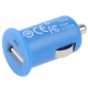 Mini USB Car Charger for iPhone 4 & 4S (Blue)