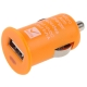 Mini USB Car Charger for iPhone 4 & 4S (Orange)