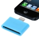 30 Pin Female to Lightning 8 Pin Male Adapter for iPhone 5, iPad mini, iPod touch 5 (Blue)