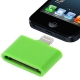 30 Pin Female to Lightning 8 Pin Male Adapter for iPhone 5, iPad mini, iPod touch 5 (Green)