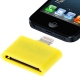30 Pin Female to Lightning 8 Pin Male Adapter for iPhone 5, iPad mini, iPod touch 5 (Yellow)