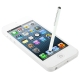 Pen Style Stylus Touch Pen for iPhone 5 / iPhone 4 & 4S / 3GS / iPad 4 / New iPad / All Capacitive Screen Products (White)