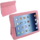Leather Case with Holder for New iPad (iPad 3) / iPad 4, Pink