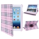 360 Degree Rotatable Scotland Gyrosigma Case with Holder for iPad 4 / New iPad (iPad 3) / iPad 2 (Pink)