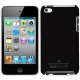 Plastic Case for iPod touch 4 (Black),With Logo