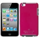 Plastic Case for iPod touch 4 (Red Plum),With Logo