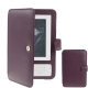 High Quality Leather case for Amazon Kindle 3 (Dark Purple)