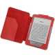 Leather Case with Litchi Texture for Amazon Kindle 4 (Red)