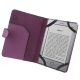 Leather Case with Litchi Texture for Amazon Kindle 4 (Purple)