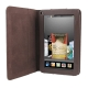 7 inch Book Style Leather Case with Holder for Amazon Kindle Fire (Coffee)
