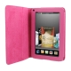 7 inch Book Style Leather Case with Holder for Amazon Kindle Fire (Magenta)