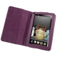 7 inch Book Style Leather Casewith Holder for Amazon Kindle Fire (Purple)