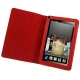 7 inch Book Style Leather Case with Holder for Amazon Kindle Fire (Red)