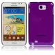 High Through Crystal Case for Samsung Galaxy Note / i9220 / N7000, Note LTE / N7005 (Purple)