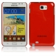 High Through Crystal Case for Samsung Galaxy Note / i9220 / N7000, Note LTE / N7005 (Red)
