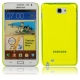 High Through Crystal Case for Samsung Galaxy Note / i9220 / N7000, Note LTE / N7005 (Yellow)