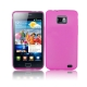 Translucency TPU Case for Samsung i9100 / Galaxy S2 (Magenta)