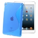 S Line TPU Case for iPad mini (Blue)