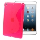 S Line TPU Case for iPad mini (Magenta)
