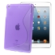 S Line TPU Case for iPad mini (Purple)