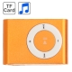 TF (Micro SD) Card Slot MP3 Player with Metal Clip (Orange)
